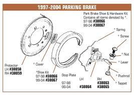 98 corvette parts corvette parts c5 1997 2004 parking brake
