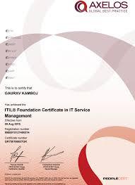 Itil Certified Resume Hotjobs Career Resume Professional Curriculum Vitae Writers