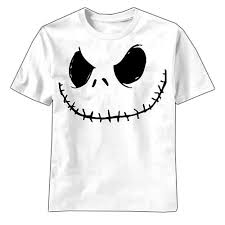 nightmare before smilin white t shirt cool t shirts