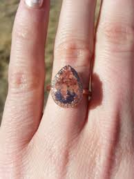 morganite pear engagement ring morganite ring help weddingbee