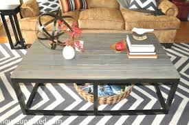 Make Your Own Reclaimed Wood Desk by How To Build A Diy Industrial Coffee Table For Only 75 24 House