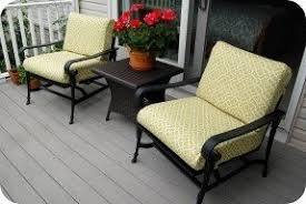 Diy Patio Cushions Yellow Patio Cushions Foter