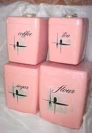 pink kitchen canister set image result for http img3 etsystatic 004 0 5352719