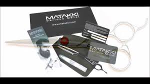 matakki hairdressing scissors collection youtube