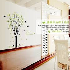 Diy Spring Home Decor Aliexpress Com Buy Large Birds Spring Green Lime Orange Tree