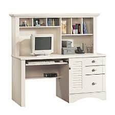Desktop Hutch Organizer Computer Desks At Office Depot Officemax