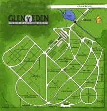Livonia Michigan Map by About Glen Eden Glen Eden Memorial Park
