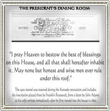 White House Dining Room The President U0027s Dining Room The Story Of Liberty