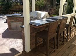 brick outdoor kitchen island in superior co u2013 hi tech appliance