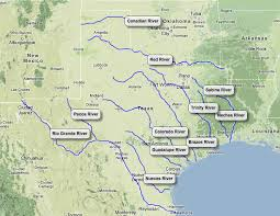 Texas rivers images Rivers landforms of texas natural texas and its people png