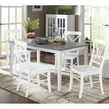 White Dining Room Table Set White Kitchen Dining Table Sets Hayneedle