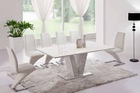 Marble Dining Room Tables White Marble Dining Table Fpudining