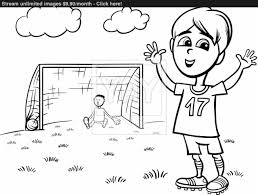 football printable coloring pages playing soccer coloring page vector yayimagescom running football