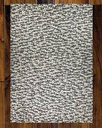 Felt Area Rugs Mats Inc Wool Felt Tufted Gray White Area Rug Reviews