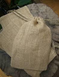 burlap favor bags burlap favor bags with drawstring 5 75in x 9 75in