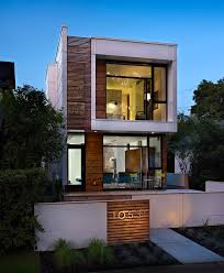 modern narrow house a narrow home that keeps its eyes on the street contemporist