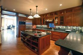 Mission Style Cabinets Kitchen Cherry Mission Style Cabinets Houzz