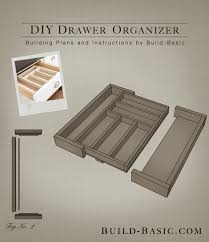 kitchen drawer organizer ideas build a diy drawer organizer build basic