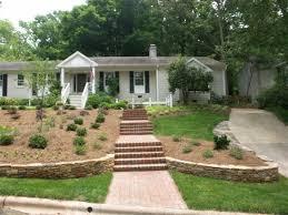 Landscaping Ideas For A Sloped Backyard 49 Best Front Yard Slope Images On Pinterest Gardens Garden