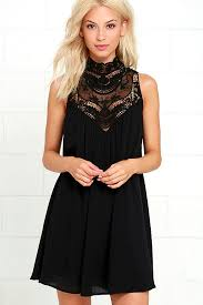 black lace dress black dress lbd lace dress swing dress 48 00