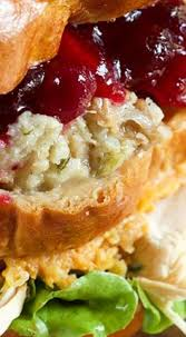 after thanksgiving open faced sandwich sandwiches soups salads