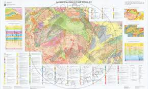 Map Of Czech Republic Geological Maps Sgidš State Geological Institute Of Dionýz štúr