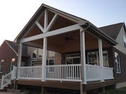 covered porches wichita covered porches composite decks porches