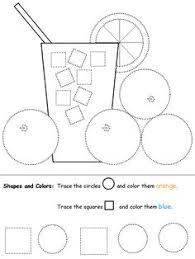 trace and count circle shapes circle shape circles and worksheets