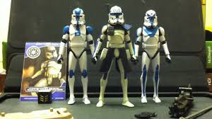 star wars the clone wars phase 2 ii clone captain rex toy r youtube