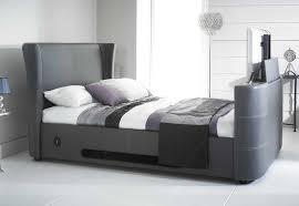 elephant tv bed grey u2013 i pod dock bluetooth speakers u2013 5ft