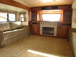 awesome 5th wheel rv front living room interior design for home