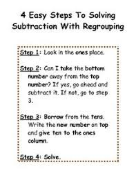 2 5 2 digit subtraction with regrouping flowchart need to change
