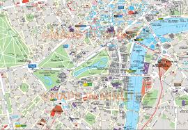 Map Of Area Codes Map Of London City New Zone