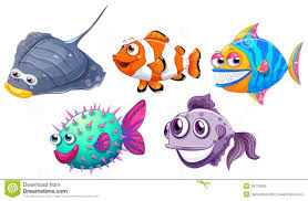different fish clipart clipartxtras