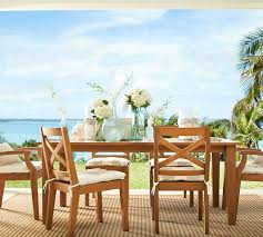 Teak Outdoor Dining Table And Chairs Hampstead Teak Rectangular Extending Dining Table U0026 Chair Set