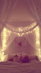 Bed Canopy With Lights 23 Amazing Canopies With String Lights Ideas Bedroom