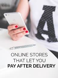 stores online online stores that let you pay after delivery through paypal