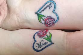 mother daughter tattoo designs 8 tattoos hub