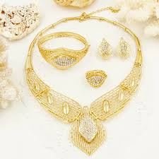 aliexpress buy wedding gifts18k gold plated wide 10 best wedding jewelry sets images on wedding jewelry