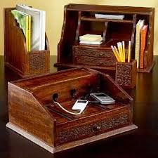 Wood Desk Accessories And Organizers 20 Desk Organizer In Creative And Cool Ideas