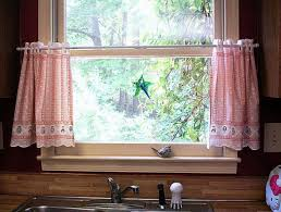 curtains beautiful curtains for kitchen window above sink window