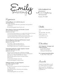 Best Resume Fonts For Business by Section 3 Gra617 Page 66