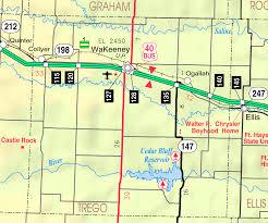Map Of Manhattan Kansas Wakeeney Kansas Wikipedia