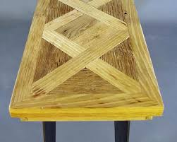 Parquet Coffee Table Rustic Parquet Coffee Table Live Edge Furniture Company