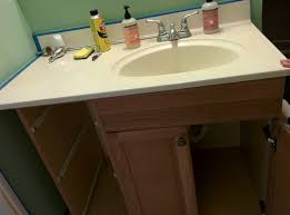 cutting countertop for sink bathroom how to cut edge of vanity home improvement stack exchange