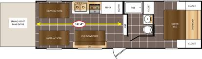 Salem Rv Floor Plans by New Or Used Toyhauler Campers For Sale Camping World Rv Sales