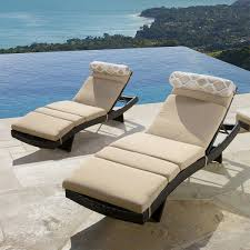 Steamer Chair Cushions Canada by Portofino Lounger Cushion 2 Pack Loungers Not Included