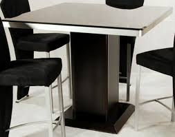 Modern Black Glass Dining Table Table Modern Square Glass Dining Table Rustic Compact Modern