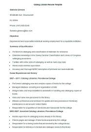 Librarian Resume Example by Good Teachers Resume Format