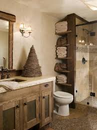 Rustic Bathroom Ideas Pictures Small Rustic Bathroom 44h Us